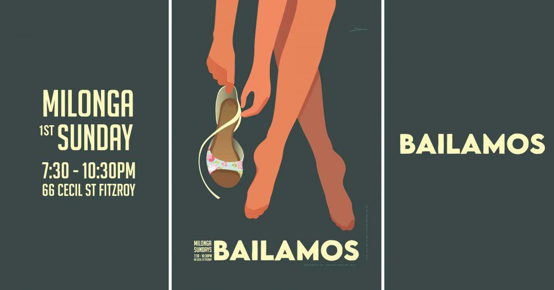 Bailamos-1st Sunday of the month Milonga Tango Melbourne