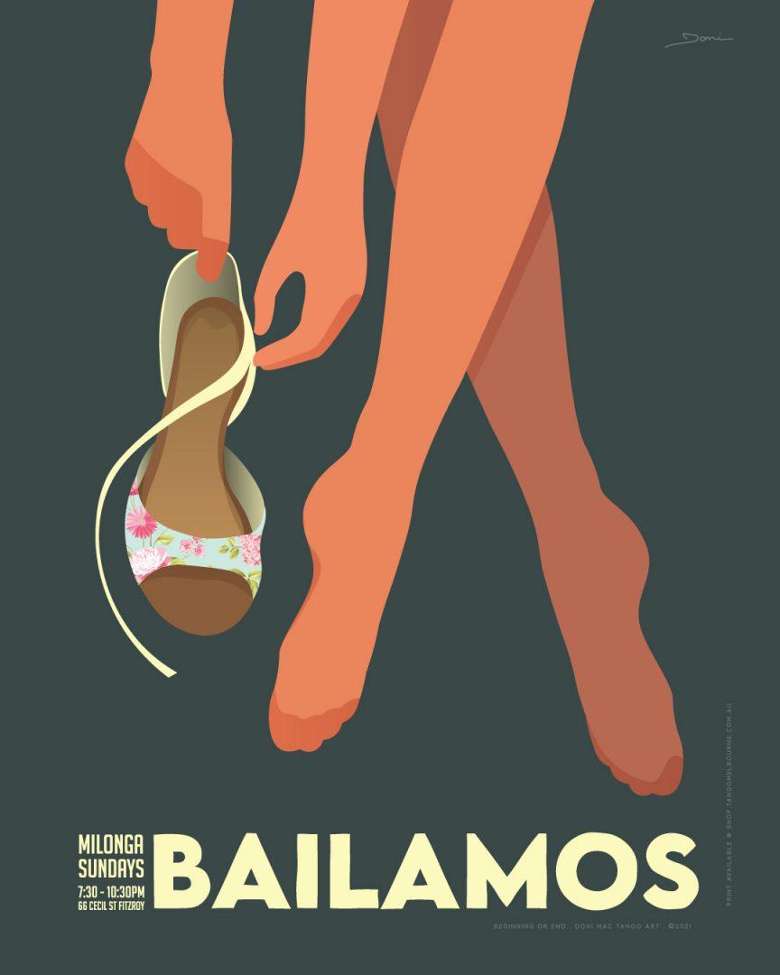 Bailamos-Sunday Milonga Tango Melbourne